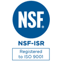 NSF-ISR Registered to ISO 9001